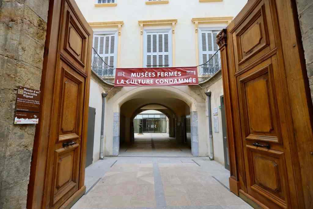 Fermeture des musées © Ville de Perpignan