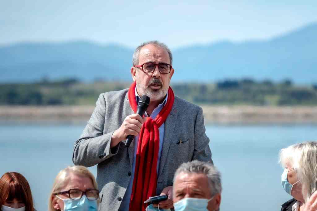 Nicolas Garcia, élu sortant et maire d'Elne