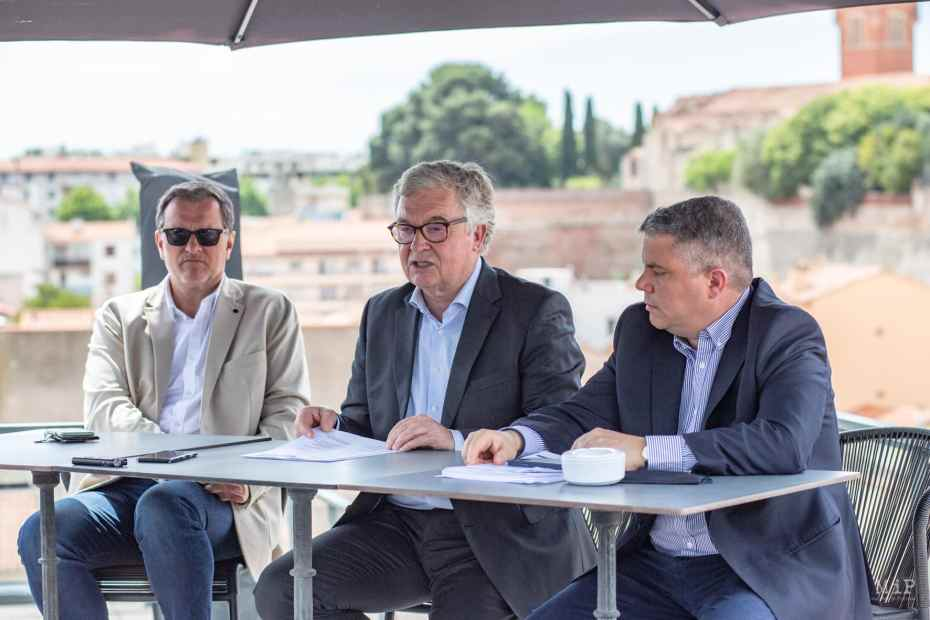 FRANCE - POLITICS - RASSEMBLEMENT NATIONAL - JEAN PAUL GARRAUD - REGIONAL ELECTIONS - OCCITANIE