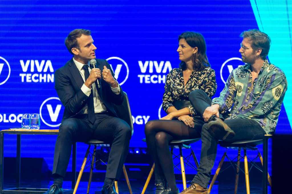 A Conversation with Emmanuel Macron, President of the French Republic © © Viva Technology 2019