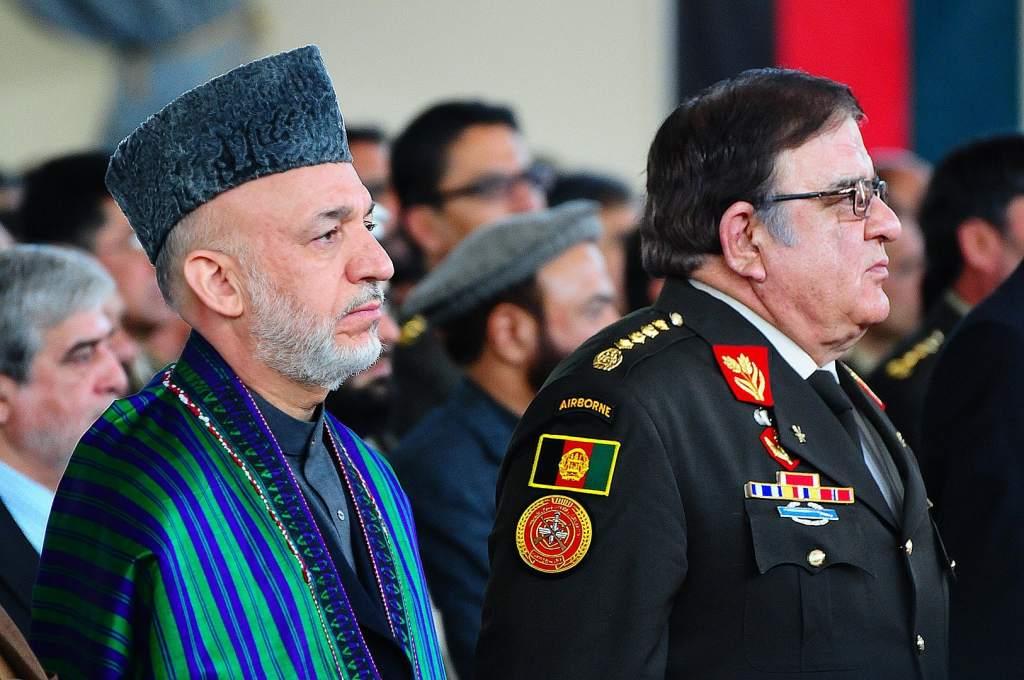 Hamid Karzai est le président d'Afghanistan de 2001 à 2014 © John Fischer (U.S. armed forces)