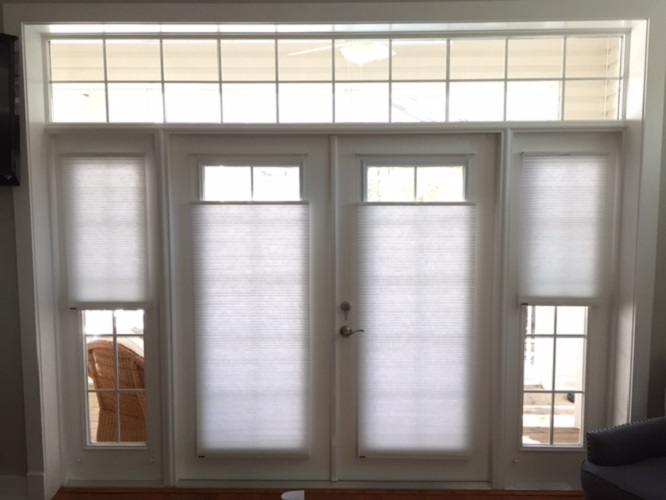 window treatments for french doors and