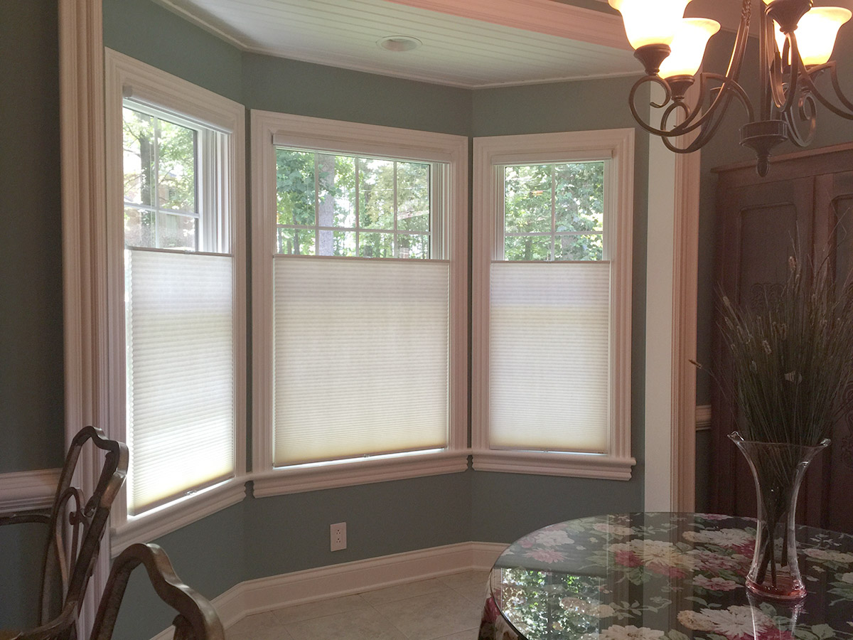 blinds for kitchen windows floral curtains graber cellular shades renew the look of a