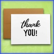 Thanks & Gratitude Cards