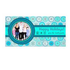 blue-snowflake-photo-card