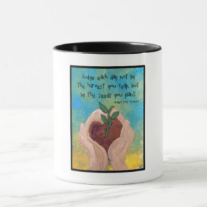 RLS Quote Art Mug