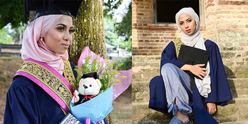 Sakit Tak Halang Gadis Jelita Ini Untuk Tamatkan Pengajian Dengan Anugerah Pelajar Terbaik