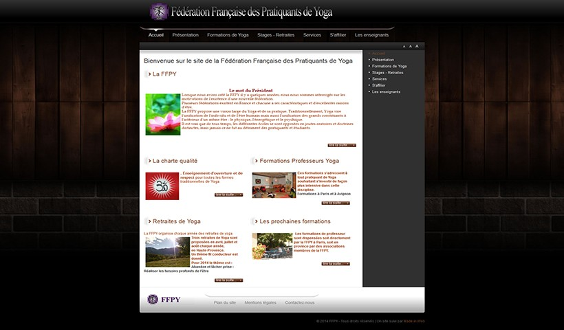 F.F.P.Y. - Un site suivi par Made in Web