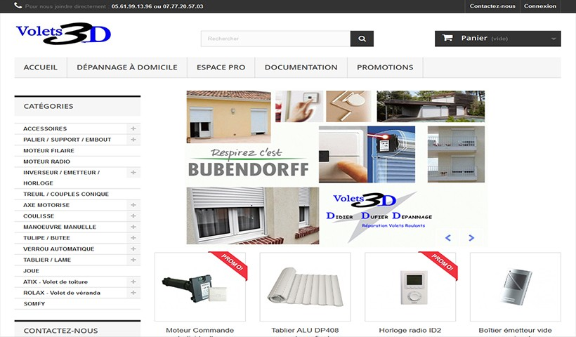 cr ation site e commerce made in web toulouse. Black Bedroom Furniture Sets. Home Design Ideas