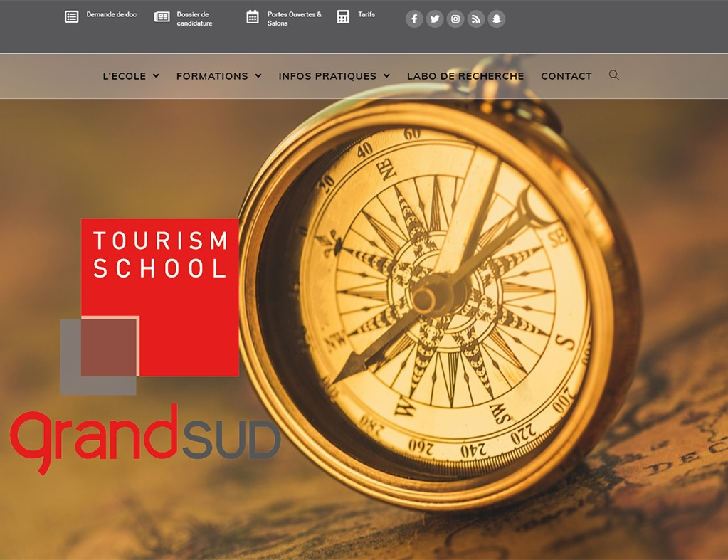 Grand Sud Formation - Une réalisation Made in Web
