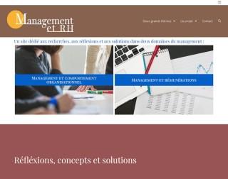 Management et RH - Une réalisation Made in Web