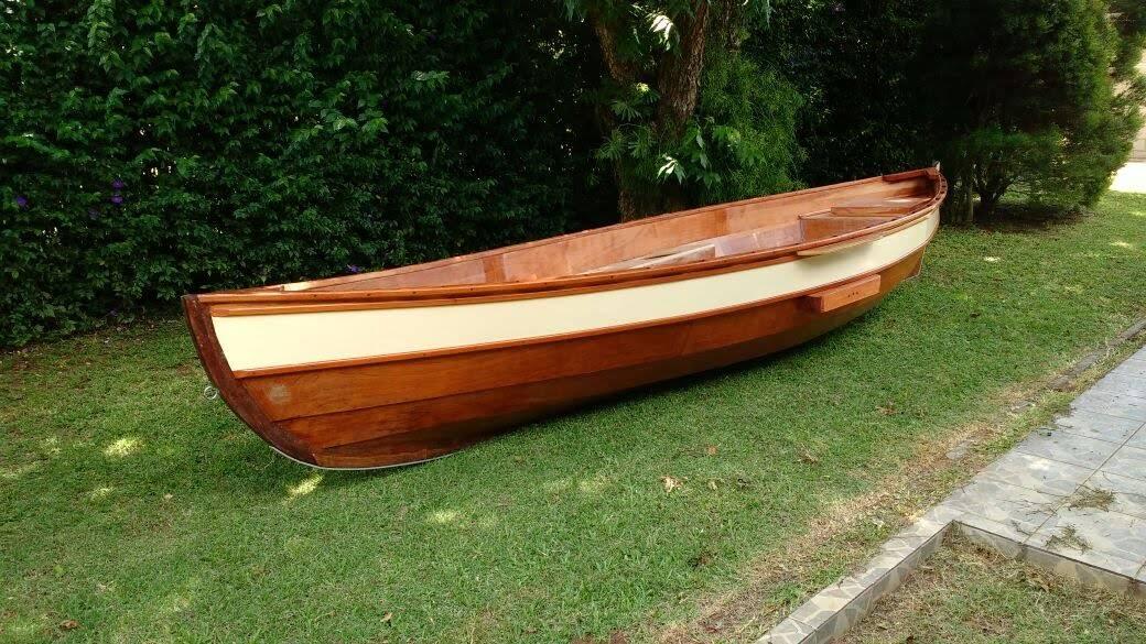baleeira construída por Marcelo, de Indaiatuba (SP)