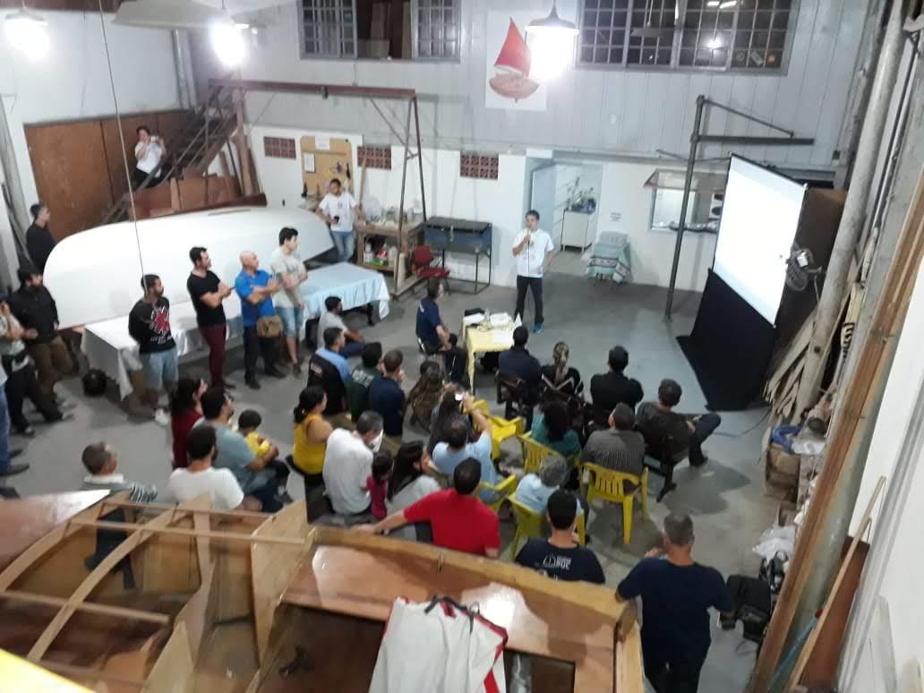 Estaleiro-escola realiza palestra em conjunto com a AVESAL