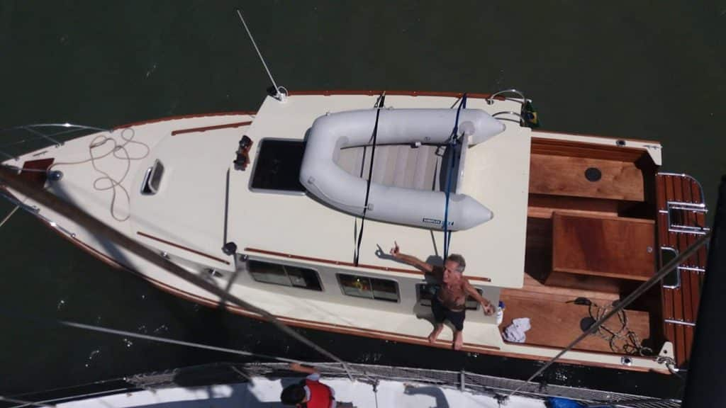 Barcos na água!