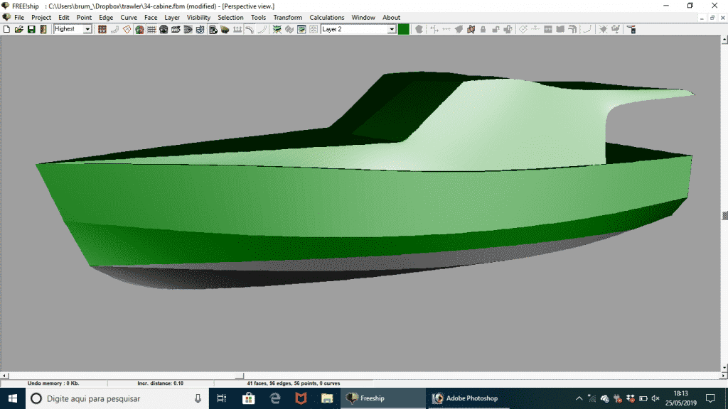 Curso de projetos – Yacht Design