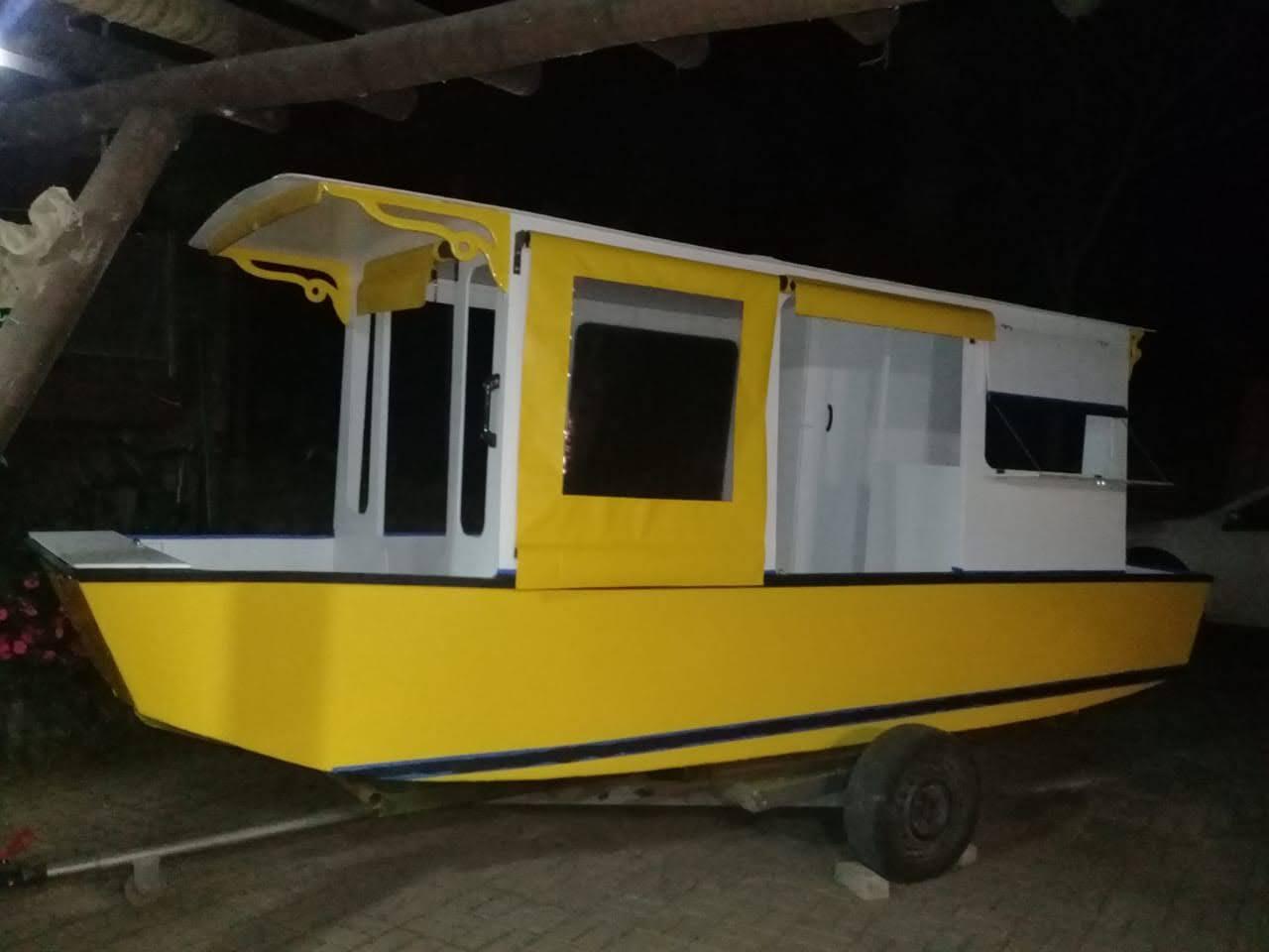 HB160 – um barco diferente!