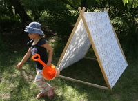 A frame tent step by step photo tutorial