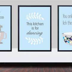 Kitchen Prints Tall Bags Duck Egg Blue Whip It Good Print Is For Dancing Peppa Penny Madeit Com Au