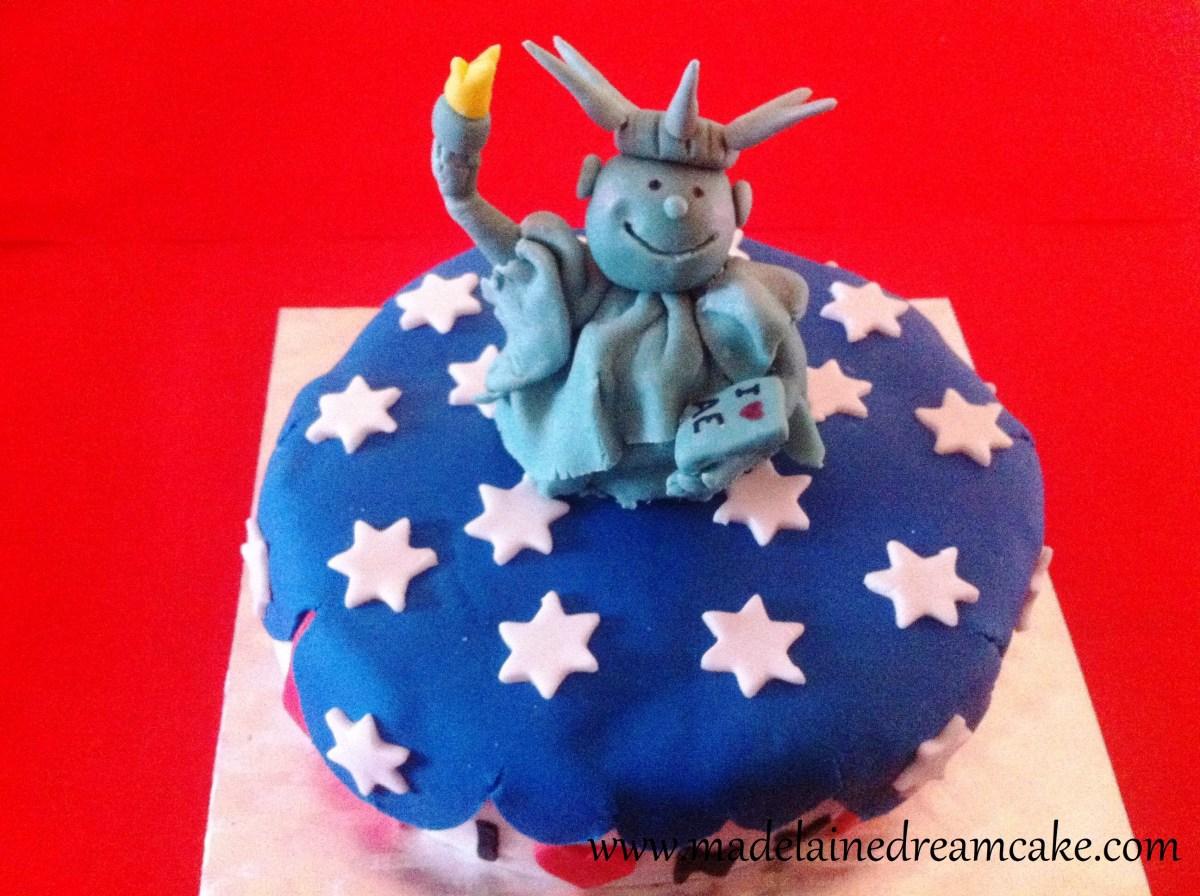 New York Birthdaycake  Madelainedreamcake