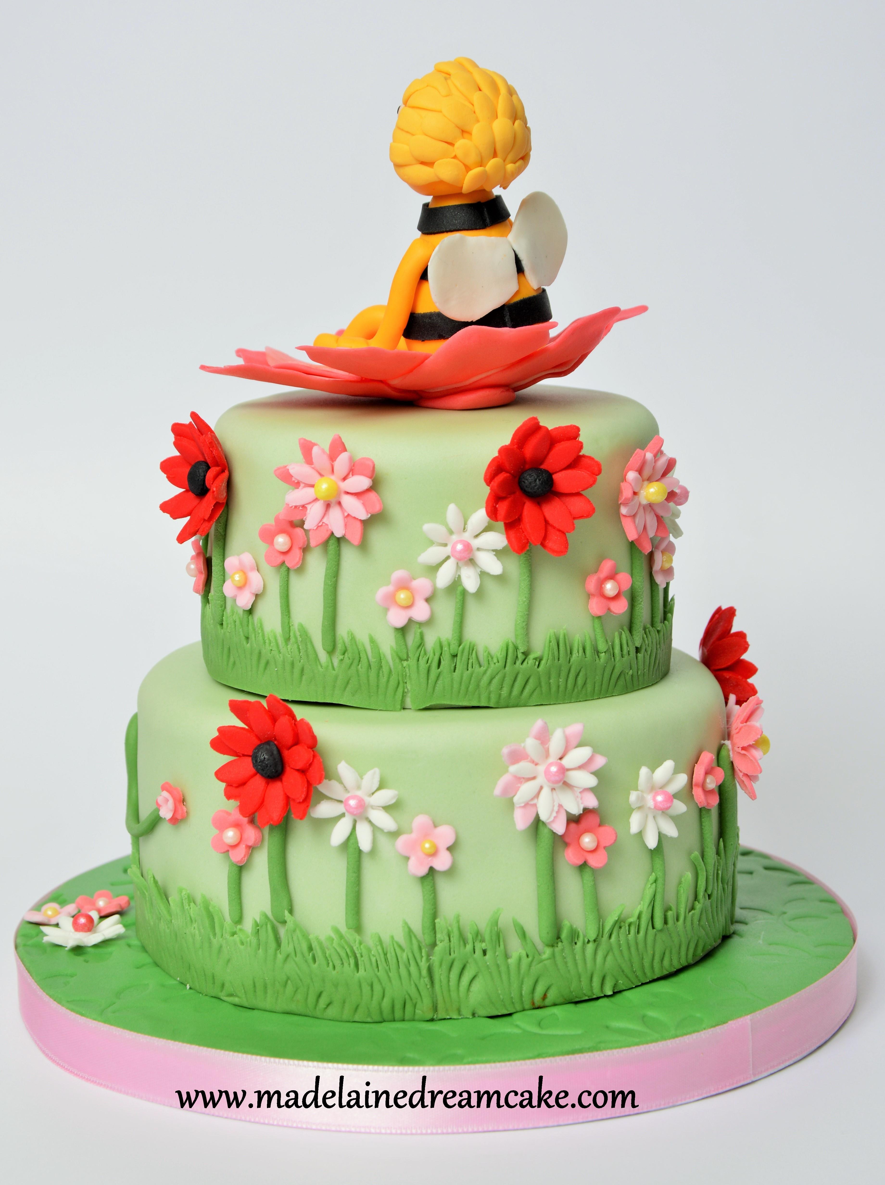 Biene Maja Torte  Madelainedreamcake