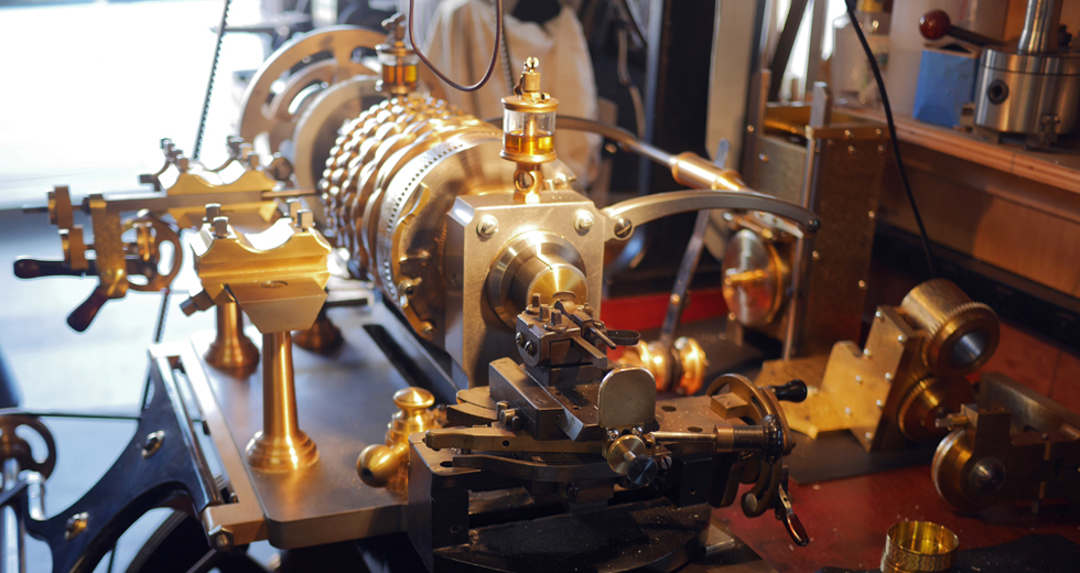 engine turning made ornamental