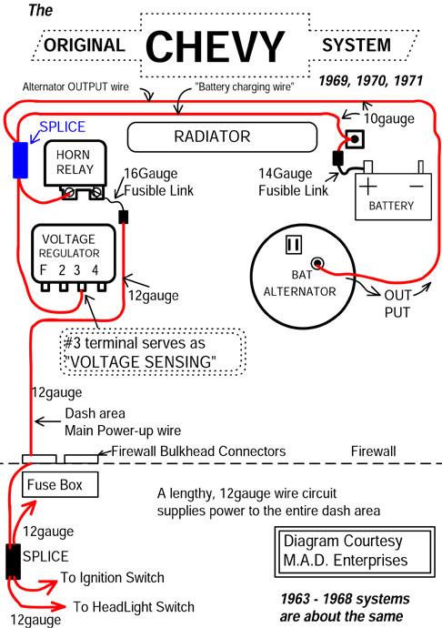2 Wire Alternator Wiring Diagram : alternator, wiring, diagram, Catalog