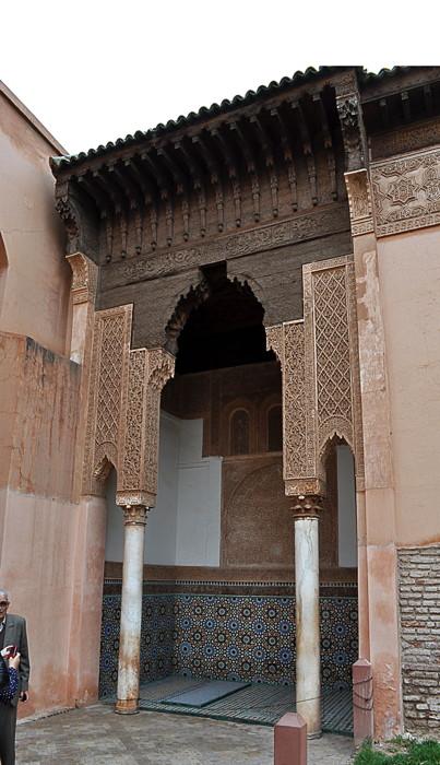 Les tombeaux sadiens  Marrakech