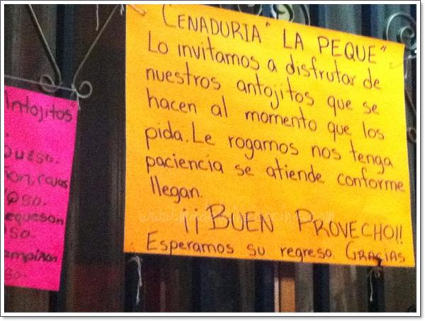 Cenadura La Peque en Guadalajara  Madeleine Cocina