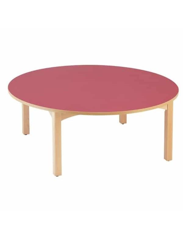 table ronde en bois pour enfants