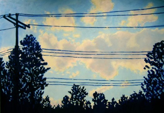 """""""To Lose Myself"""" Oil on canvas, 48""""x72"""". 2011."""