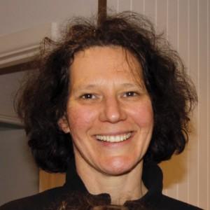 Madeleine Winter, smiling