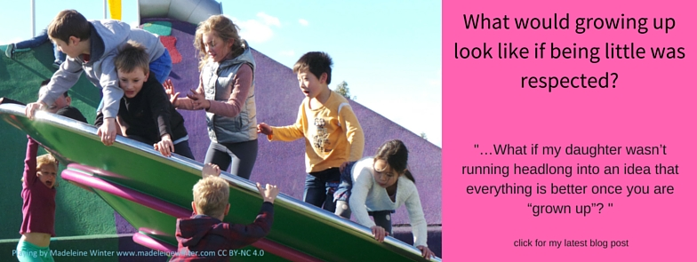 What if young people were respected? Click her for latest blog post
