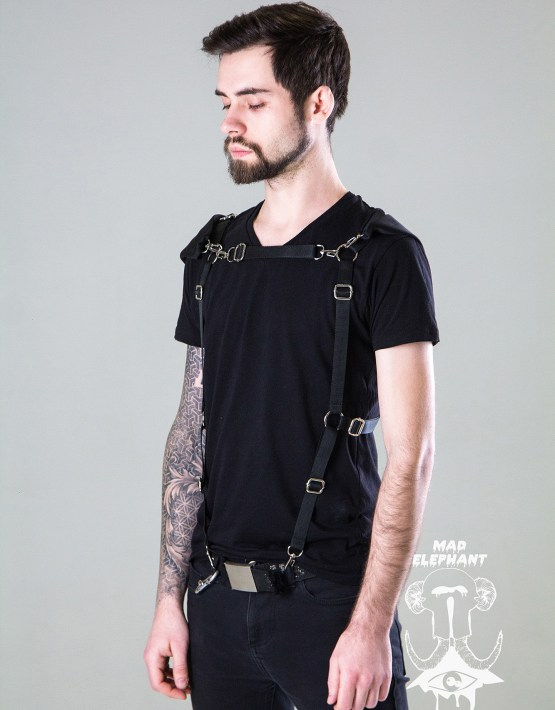 body harness fashion men