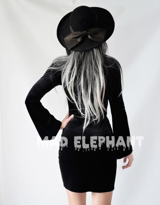 sexy gothic dress