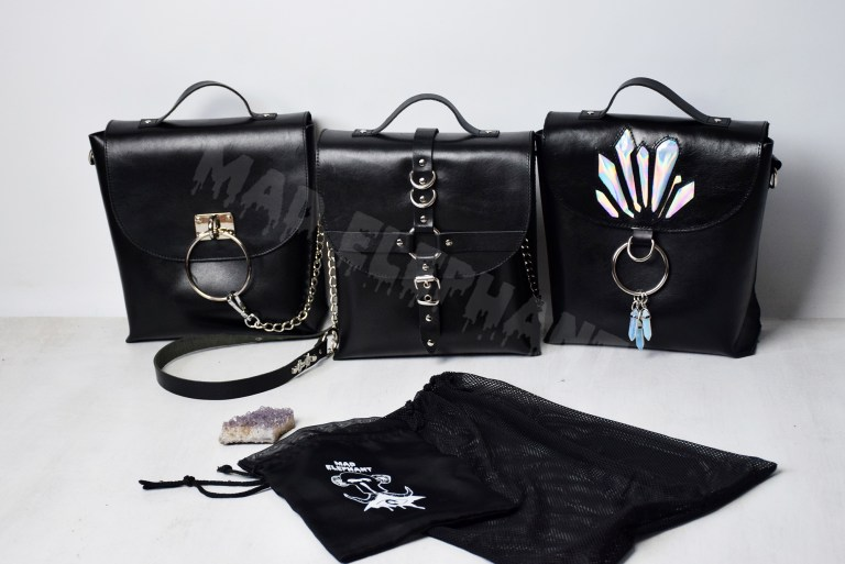 gothic bags noir collection
