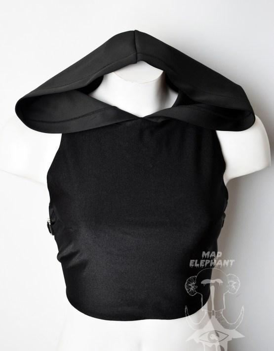 black pentagram top