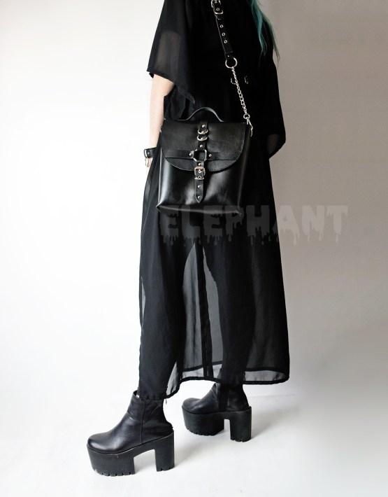 black gothic bag