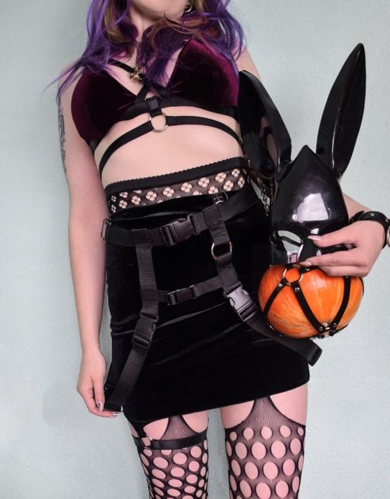 women's nylon web belt