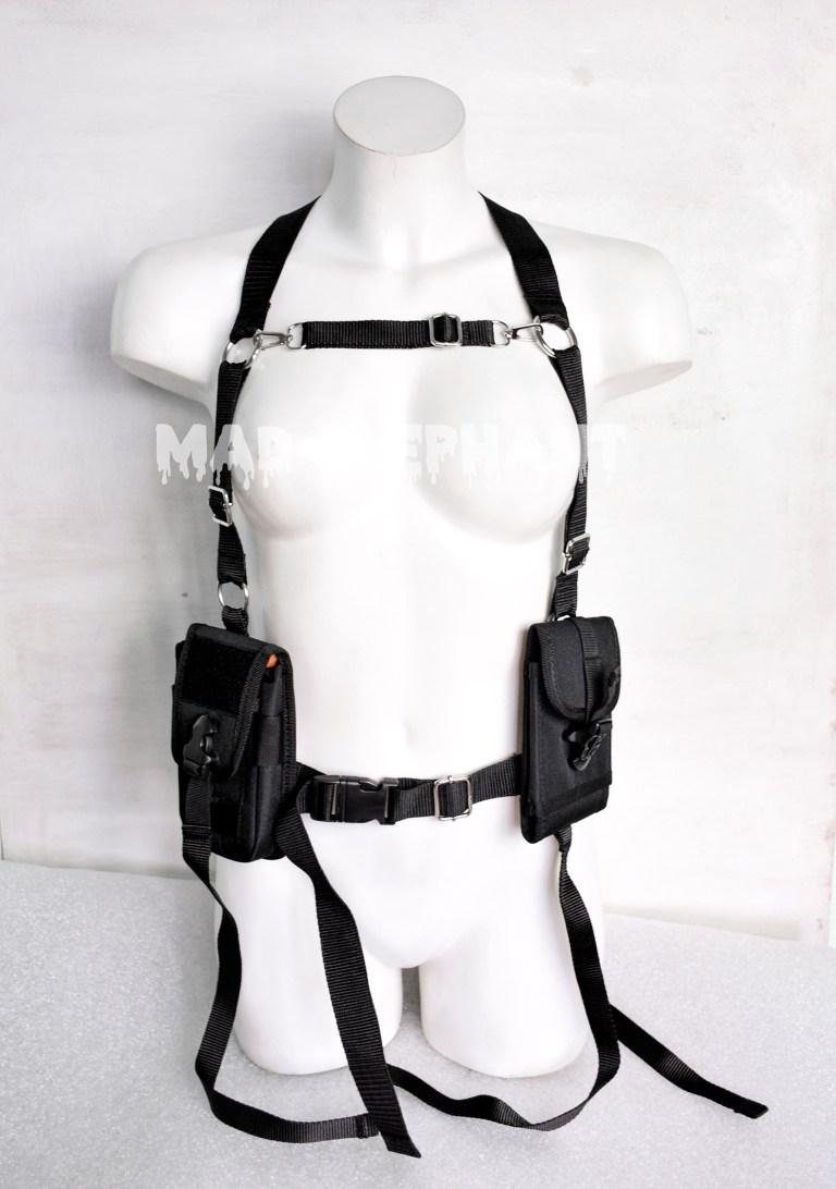 techwear vest harness
