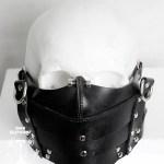 cyberpunk half mask