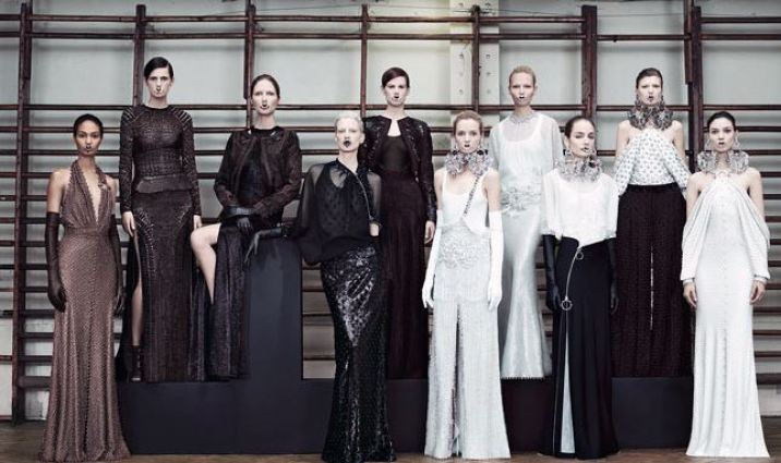uprising Givenchy haute couture 11/12