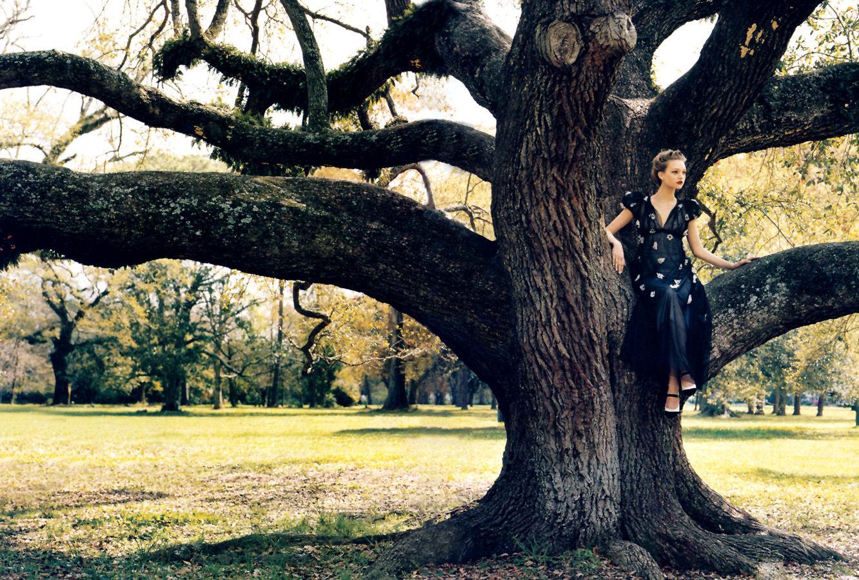 Climbing trees Vogue