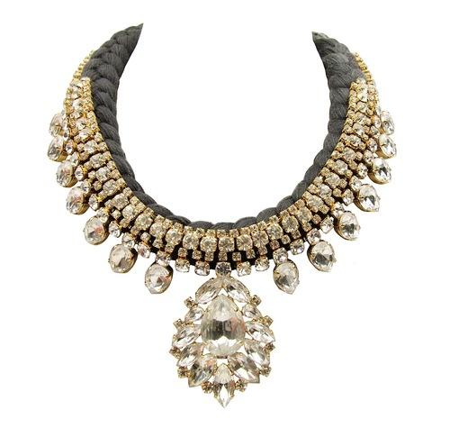 Necklace Casablanca_Luxe_black__