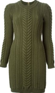 party dresses Balmain jersey dress