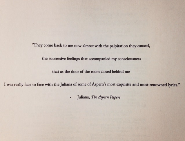The aspern papers quote