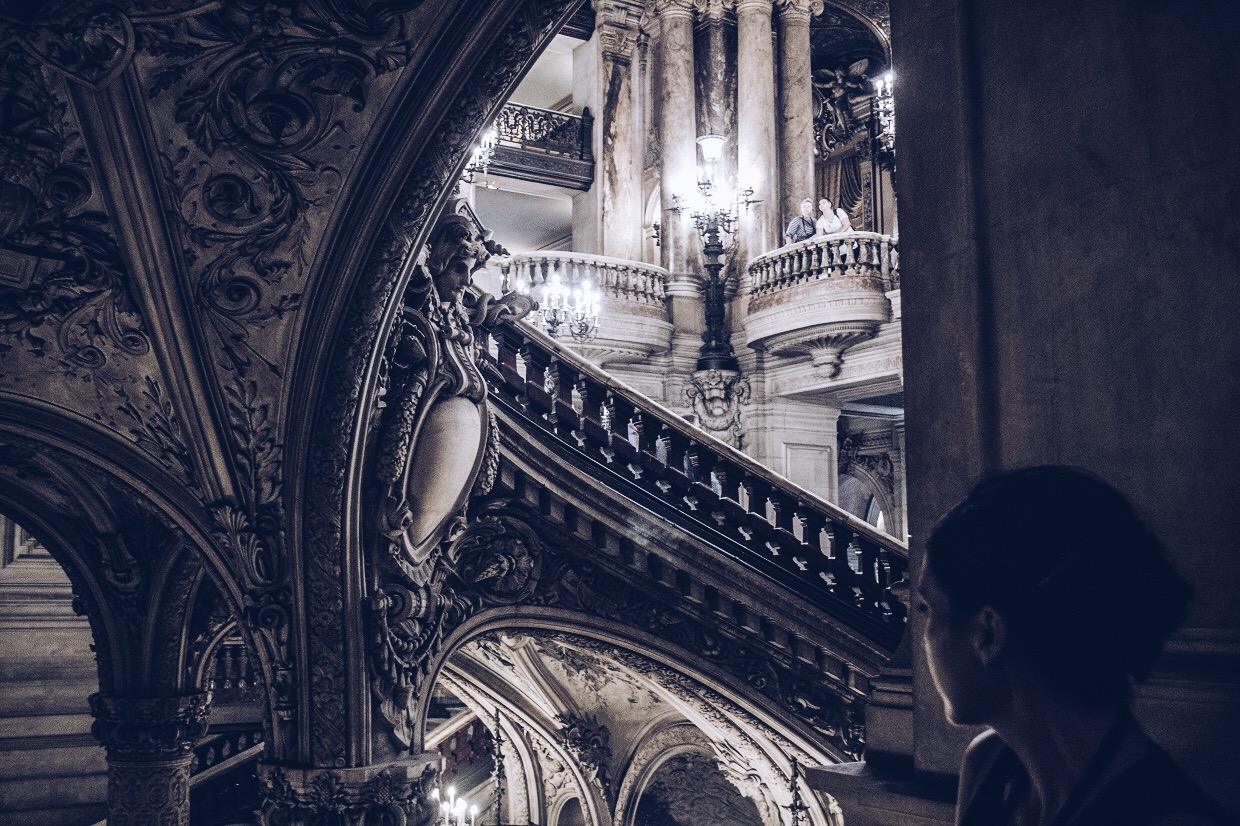 Opera garnier you cannot be wonderful, if you do not learn how to wonder