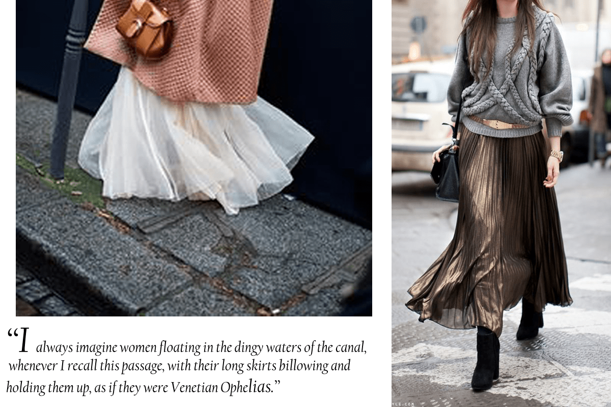 what to wear in venice long skirts