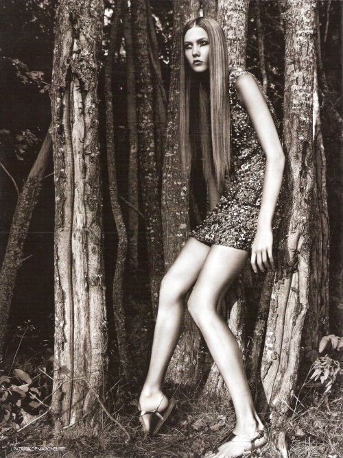 Lost in a forest vogue uk