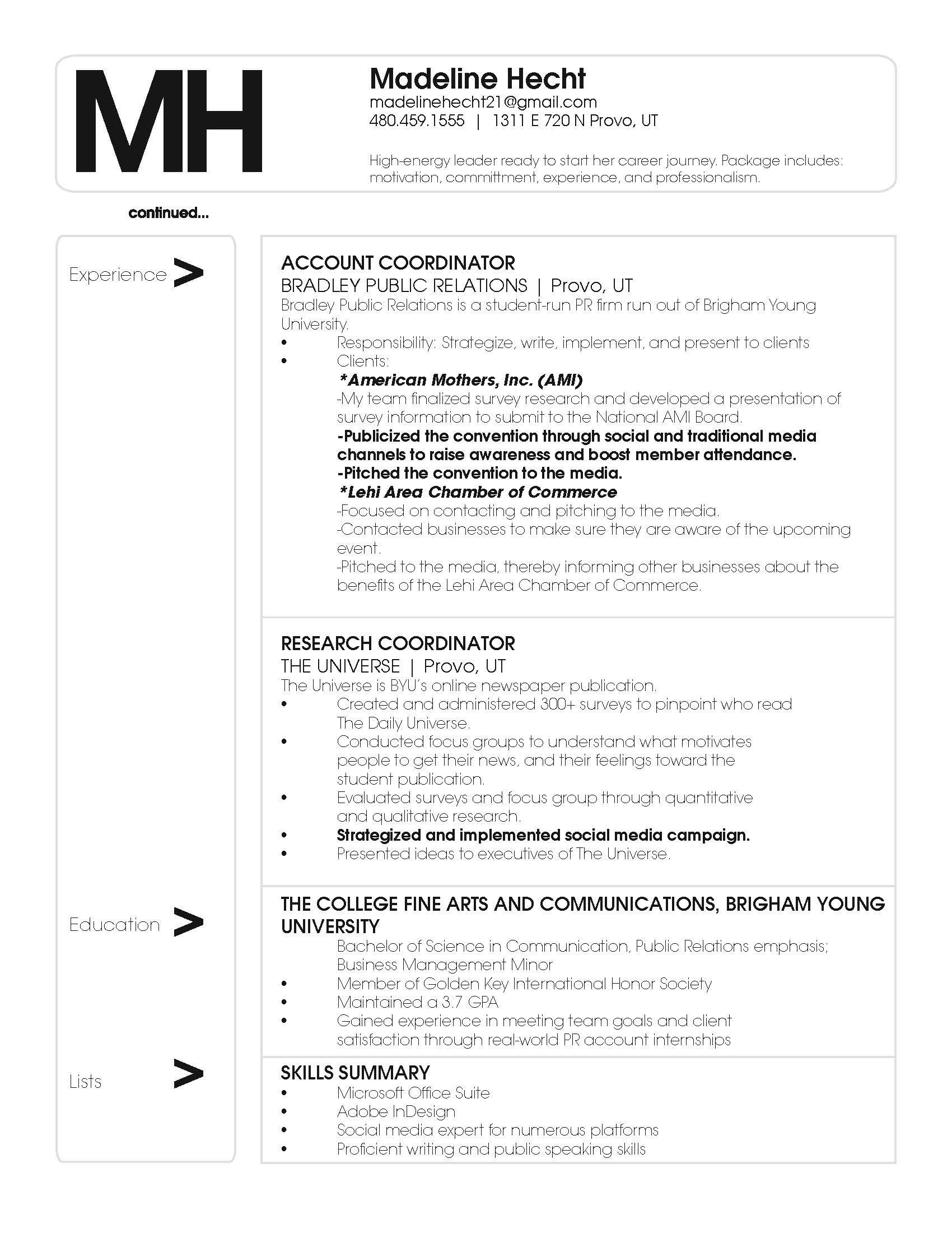 Public Relations Internship Cover Letter - Cover Letter Resume Ideas ...