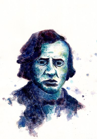 Chopin Portrait-Blog